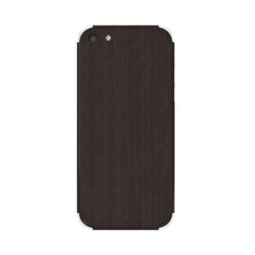 Slickwraps Metal Series Protective Film for iPhone 5c - Brushed Onyx - Skin - Retail Packaging - Brushed Onyx