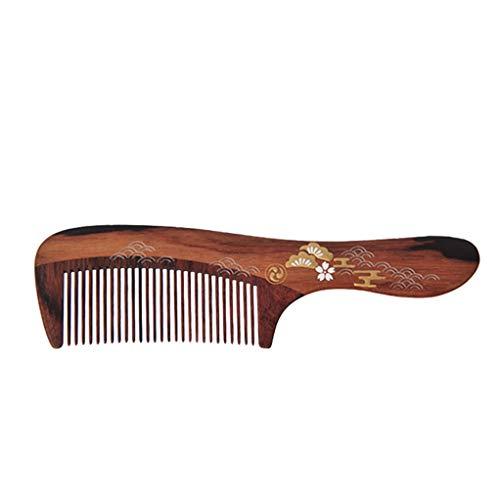 Yilian Shuzi Creative Handmade Gift Box Ironwood Bean Wood Comb Female Growth Handle Comb
