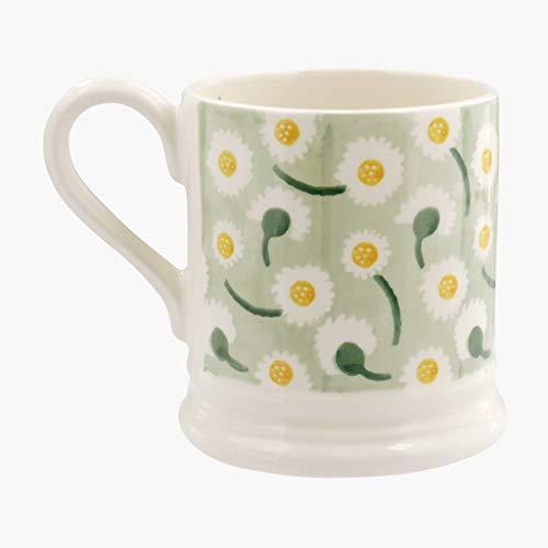 Emma Bridgewater Daisy Light Green Half Pint - Mug Pint Flowers 1/2