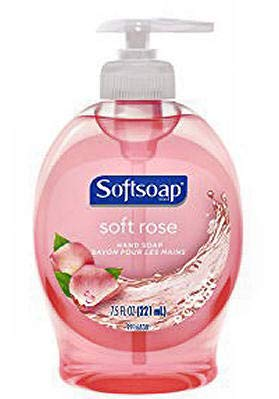 Softsoap Liquid Hand Soap, Soft Rose, 7.5 Fluid Ounce