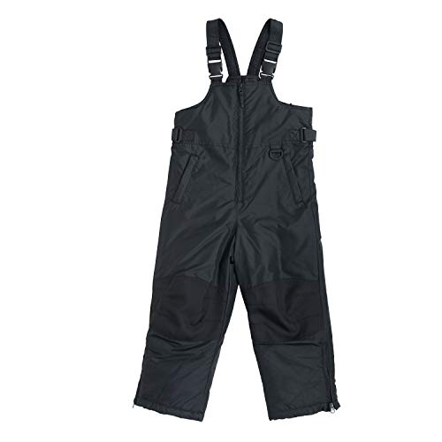Snowsuits for Kids Husky Insulated Bib Snow Pants Black (16-18 Husky) ()