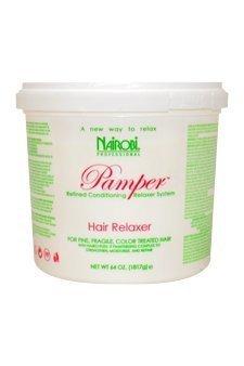 Nairobi Pamper Hair Relaxer 64 (4 pounds / 64 oz.)