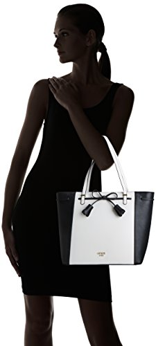 Mujer Varios White y de bolsos Multi GUESS hombro Colores Shoppers Hobo Bags 8qFc0TH