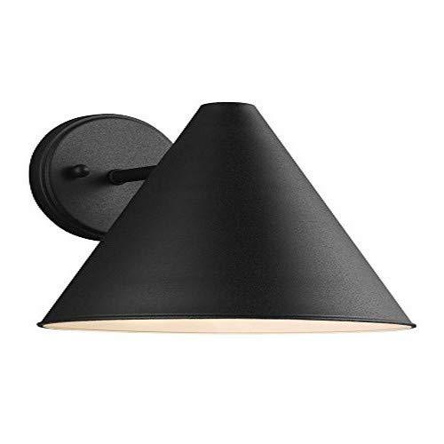 Sea Gull Lighting 8538501EN3-12 Crittenden One Light Outdoor Wall Lantern, Black