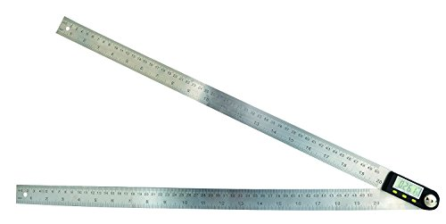 Saili 20 Inches Stainless Steel Digital Angle Ruler Goniometer,angle Finder Ruler,angle Ruler Definition,ruler Angle