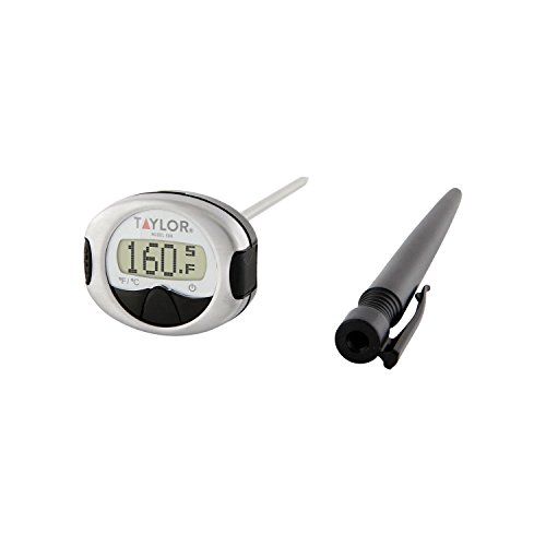 Gourmet Instant Read Thermometer - Taylor Precision Products Connoisseur Line Instant Read Digital Thermometer