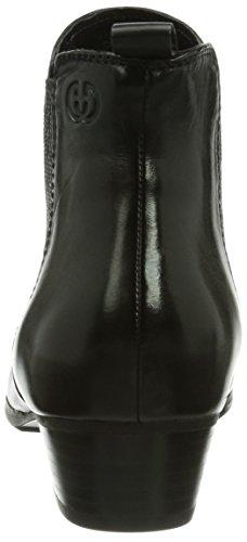 Gerry Weber Shoes Caren 03 - botas chelsea de cuero mujer negro - negro