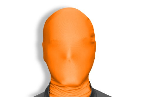 Morphsuits Morphmask Original, Orange, One Size