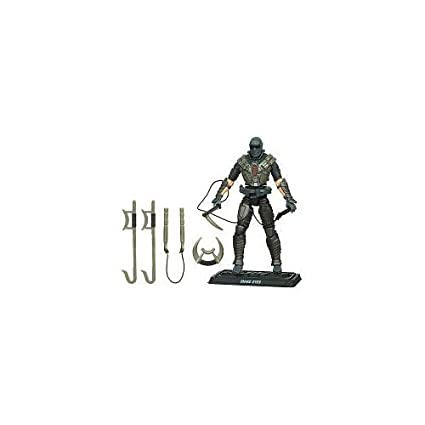 Amazon.com: GI Joe Pursuit of Cobra Series Snake Eyes (Ninja ...