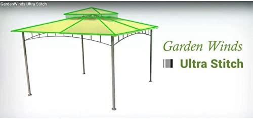 Garden Winds Replacement Canopy for Home Depot s Arrow Gazebo – LCM449B