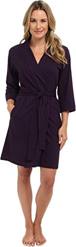 Jockey Women's Robe, Eggplant, Medium