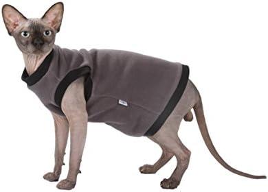 Kotomoda Cat's Pullover Taupe Fleece 19