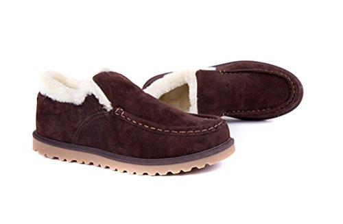 WHENOW Winter Snerker Slipper Loafer