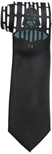 Star Wars Men's Darth Vader Underknot Tie, black, One Size (Star Wars Tie)