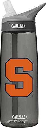 Ncaa Syracuse Orange Unisex Camelbak Eddy 75L Collegiate Water Bottle  Charcoal  75 Liter