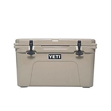 Yeti Tundra Cooler, Desert Tan, 45 quart