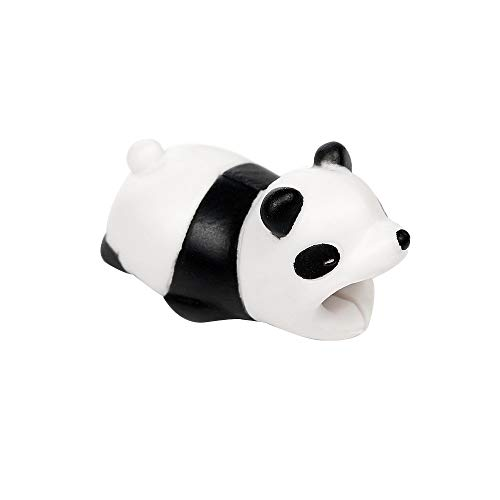 Cable Bite iPhone Cable Cord Cute Animal Phone Accessory Protects Cable Accessory, Compatible iPhone Xs max, iPhone XR, iPhone X, XS, iPhone 6 6S, 7, 7 Plus 8 Plus, Panda