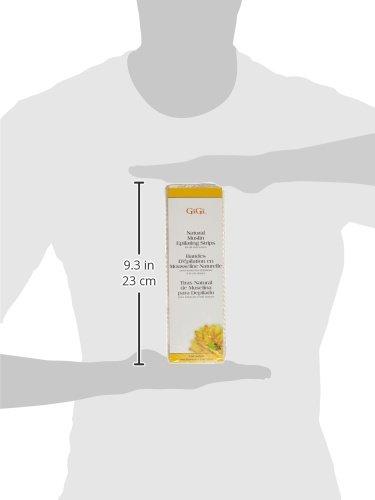 GiGi - Bandas para depilación (muselina, 100 unidades, tamaño grande): Amazon.es: Belleza