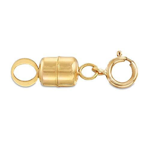 Ross-Simons Italian 14kt Yellow Gold Magnetic Clasp Converter