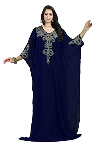 KoC Women's Kaftan Maxi Dress Farasha Caftan ()