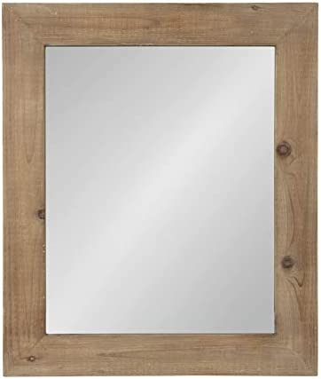 Kate and Laurel Garvey Wood Framed Wall Mirror