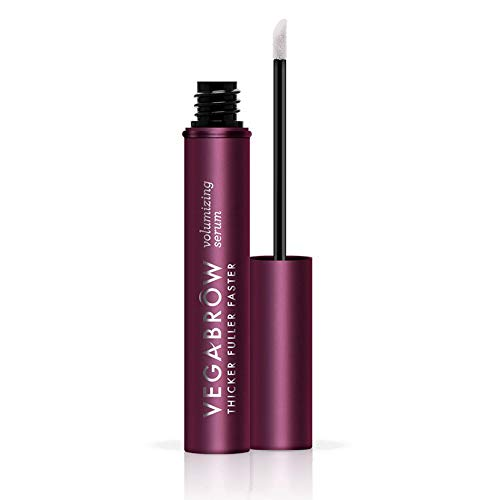 VEGAMOUR Vegabrow Eyebrow Volumizing Serum - Natural Hormone-free Vegan Plant Based Cruelty-free Brow Enhancing and Thickening Formula Boosts Healthy Growth