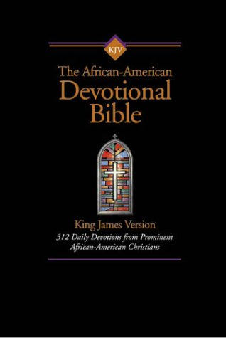 Search : KJV African-American Devotional Bible, The