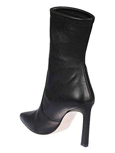 Boots Rapture100 Women's Weitzman Black Stuart Leather Ankle qY0fE8n