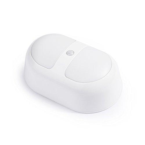 VicTsing Stick-On Portable Anywhere Auto LED Body Motion Sensored Light Inductive Lamp(Yellow Light)