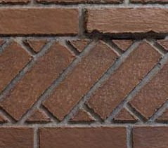 Ceramic Fiber Liner for 36 inch Luxury Fireplaces - Banded Brick