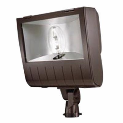 Lumark MHNKS1K Nighthawk Floodlight, 1000W, MH Multi-Tap Slipfitter with Lamp Bronze