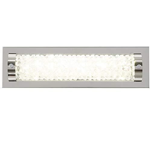 LED Wall Lights,Auffel 15-Inch Glass+Metal Vanity Lights,4000K Neutral White Light 1320ML Mirror Light,Horizontal or Vertical Installation for Bathroom, Bedroom, Hallway, Balcony,Study Room -