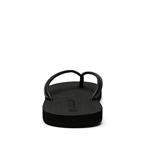 Minimalista da Donna Color Antiscivolo Uomo Dimensione da per da 42 Sandali e Flip Spiaggia EU Nero Flop vqXPx7g5
