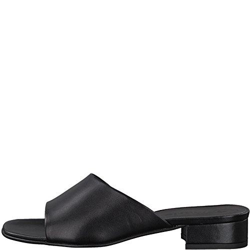 Tamaris 1-27122-30 Women`s Clogs Black (Black Leather) p77gVfw