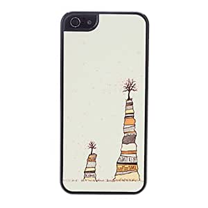 Two Trees Pattern Hard Case for iPhone 5/5S