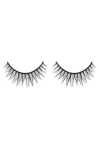 Baci Glamour Style No.594 Deluxe Eyelashes with Adhesive Included, Black by Baci Lingerie