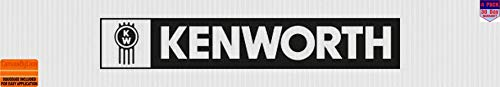 kenworth black 4 Stickers 4x4 Inches Car Bumper Window Sticker Decal canvasbylam