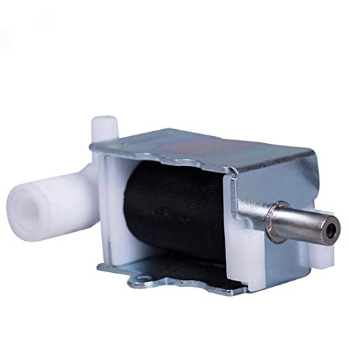- Fincos Miniature Solenoid Valve, Long Life, Fast Exhaust Gas Valve, Stainless Steel Vent Valve, Ventilation and Air Release Valve - (Voltage: DC12V)