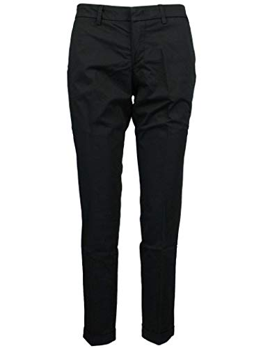 Nero Cotone Ntw8038528tgupb999 Pantaloni Donna Fay q4S010