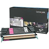 Price comparison product image Lexmark Extra High Yield Magenta Toner Cartridge, 7000 Yield, For Use in Model C534 (C5342MX)