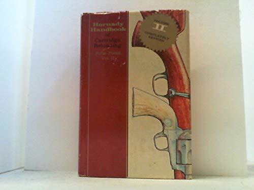 - Hornady Handbook of Cartridge Reloading Rifle-Pistol Vol. II
