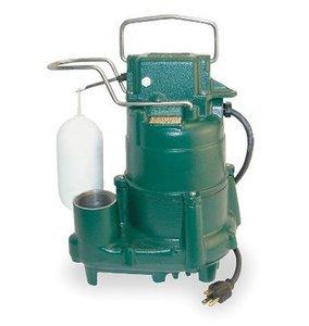 (ZOELLER Sump Pump 1/2 hp 115V Model # M98)