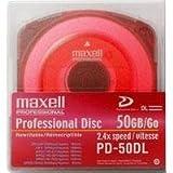 Maxell PD-50DL XDCAM 50 GB Professional Hard Disk Recording Medium