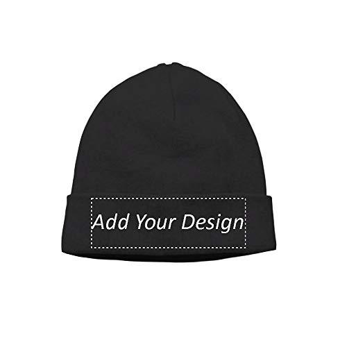 Custom Hat Wool Cuffed Plain Beanie Warm Winter Knit Hats Skull Cap DIY Hat