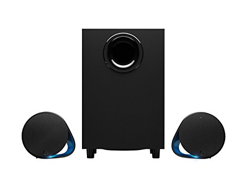 (Logitech G560 LIGHTSYNC PC Gaming Speakers with Game Driven RGB Lighting)