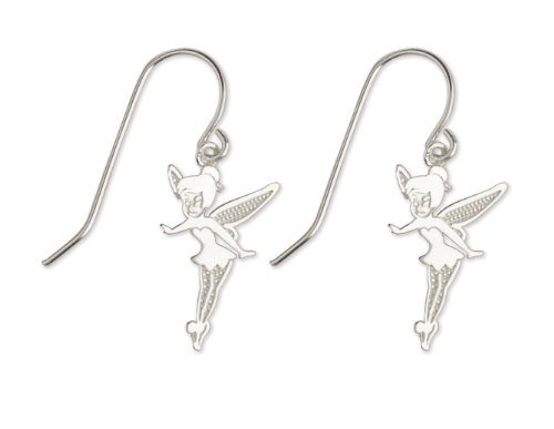 Disney Tinkerbell Jewelry - Sterling Silver Disney Tinkerbell Drop Earrings Jewelry