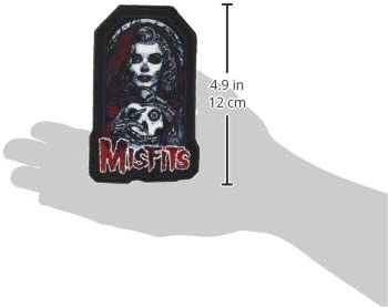 Misfits Unmasked Officially Licensed Iron On Sew On Embroidered Patch 2 5 X 4 3 Auto