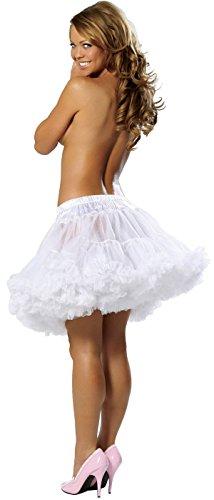 Extra Fluffy Fantasy Petticoat Halloween Accessory -
