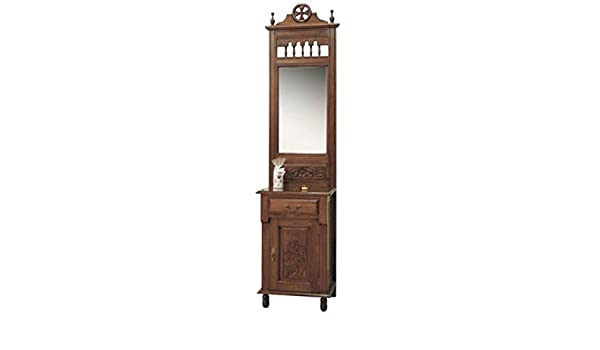 Espejo & Perchero de Caoba 210 x 50 x 40 cm - Tocador Espejo ...