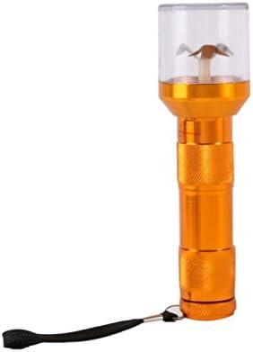Peyan 1 Pc Electric Torch Shape Herb Tobacco Grinder Metal Smoking Grinding Crusher Pollen Smoking Pipes